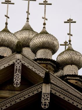 9-Domed Intercession Church, Kizhi Island, Lake Onega, Russia by Cindy Miller Hopkins