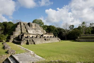 Belize, Altun Ha. Mayan Archeological Site and Ruins by Cindy Miller Hopkins