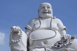 Big Happy Buddha Statue, My Tho, Vietnam by Cindy Miller Hopkins