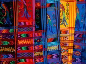 Bright Textile, Ixcel Textile Co-op, San Antonio Aguas Calientes, Guatemala by Cindy Miller Hopkins