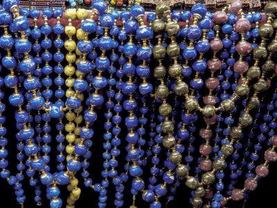 Colorful Beads for Sale in Khan al-Khalili Bazaar, Cairo, Egypt
