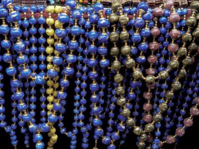 Colorful Beads for Sale in Khan al-Khalili Bazaar, Cairo, Egypt by Cindy Miller Hopkins