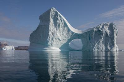 Eastern Greenland, Scoresbysund, aka Scoresby Sund, Bear Island, aka Bjorne Oer. Huge iceberg with  by Cindy Miller Hopkins