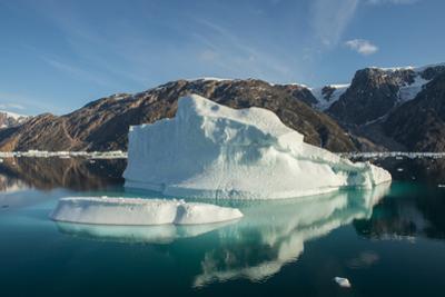 Eastern Greenland, Scoresbysund, aka Scoresby Sund. Scenic ice filled Oer Fjord. by Cindy Miller Hopkins