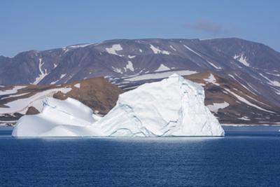 Greenland, Scoresbysund, aka Scoresby Sund. Large icebergs near Ittoqqortoormiit. by Cindy Miller Hopkins