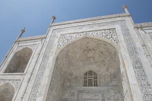 India, Agra, Taj Mahal. Famous Landmark Memorial to Queen Mumtaz Mahal by Cindy Miller Hopkins
