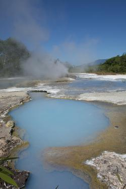 Melanesia, Papua New Guinea, Fergusson Island, del Hot Springs by Cindy Miller Hopkins