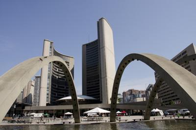 New City Hall, Toronto, Ontario, Canada by Cindy Miller Hopkins