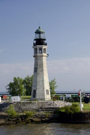 New York, Buffalo. Buffalo Main Lighthouse. by Cindy Miller Hopkins
