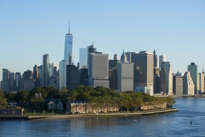 New York, New York City. River view of Manhattan. by Cindy Miller Hopkins