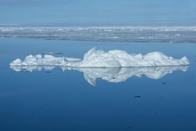 Norway, Svalbard, Nordaustlandet, Nordaust-Svalbard Nature Reserve. Ice along the coast of Nordaust by Cindy Miller Hopkins
