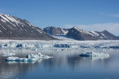 Norway, Svalbard, Spitsbergen. Nordvest-Spitsbergen National Park, Liefdefjorden, Monacobreen, aka  by Cindy Miller Hopkins