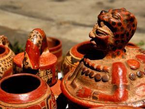 Replicas of Mayan Pottery For Sale, Joya de Ceren, El Salvador by Cindy Miller Hopkins