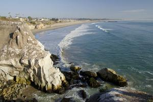 Rocky Coastal Overview, Pismo Beach, California, USA by Cindy Miller Hopkins