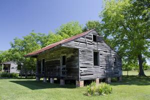 Slave Cabin, Vacherie, New Orleans, Louisiana, USA by Cindy Miller Hopkins