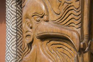 Solomon Islands, Guadalcanal Island. Cultural Center, Wood Carving by Cindy Miller Hopkins