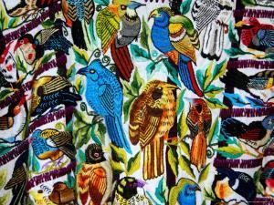 Textiles For Sale at Visitor's Center, Tikal National Park, Petan Jungle, Guatemala by Cindy Miller Hopkins