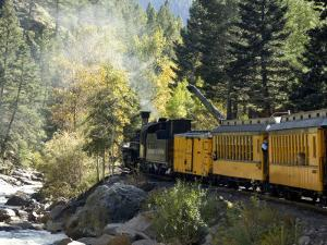 The Durango & Silverton Narrow Gauge Railroad, Colorado, USA by Cindy Miller Hopkins