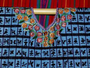 Traditional Huipil, Textile Museum, Casa del Tejido, Antigua, Guatemala by Cindy Miller Hopkins