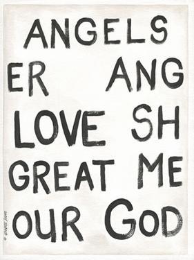 Angels of Wonder I by Cindy Shamp