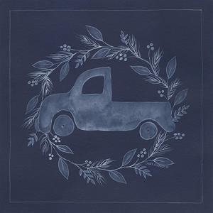 Blue Truck by Cindy Shamp
