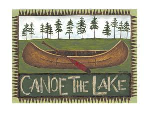 Canoe on the Lake by Cindy Shamp