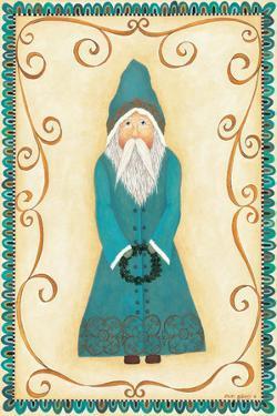 Chalkware Santa III by Cindy Shamp
