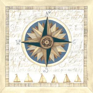 Compass Rose II by Cindy Shamp