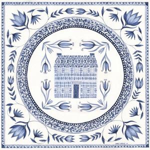 Country Blues Plate 2 by Cindy Shamp
