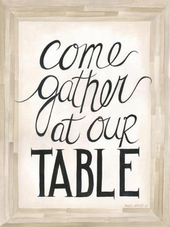 Our Table by Cindy Shamp