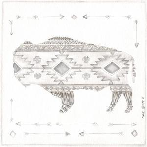 Patterned Bison by Cindy Shamp