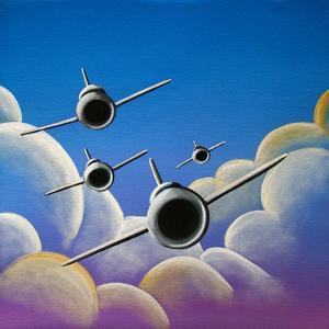 A Jet Quartet by Cindy Thornton