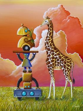 Robots On Safari by Cindy Thornton