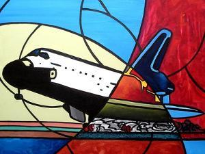 Space Shuttle Landing by Cindy Thornton