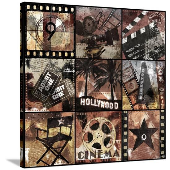 Cinema Treasures-Keith Mallett-Stretched Canvas