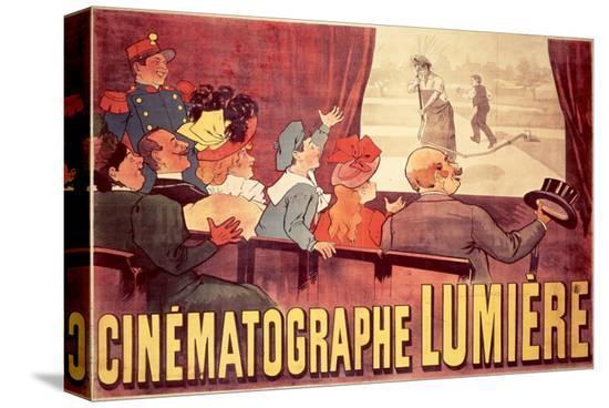 Cinematographe Lumiere--Stretched Canvas