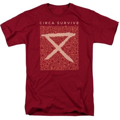 Circa Survive- Floral Bloack Logo