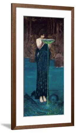Circe Invidiosa, 1892-John William Waterhouse-Framed Art Print