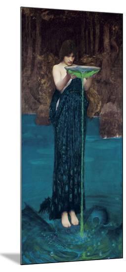 Circe Invidiosa, 1892-John William Waterhouse-Mounted Print