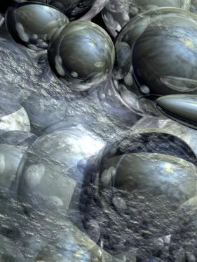 Circular Orbs Surrounded by Various Matter
