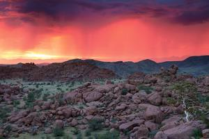 Thunderstorm at Sunset in Damaraland by Circumnavigation