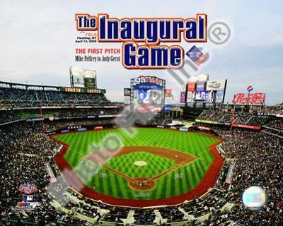 Citi Field 2009 Inaugural Game / 1st Pitch