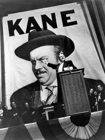 Citizen Kane, Orson Welles, 1941, Running For Governor