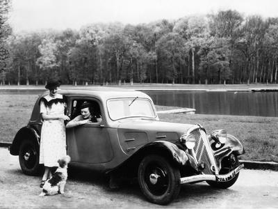 Citroen Front Wheel Drive In 1934
