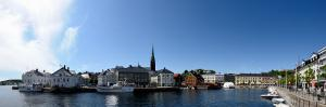 City at the Waterfront, Arendal, Aust-Agder, Norway