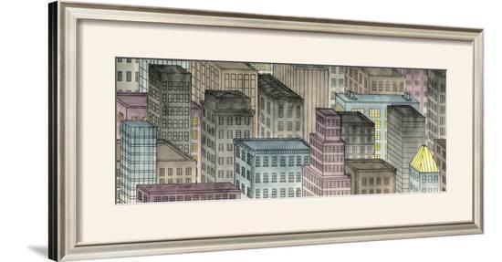 City by Night I-Charles Swinford-Framed Art Print