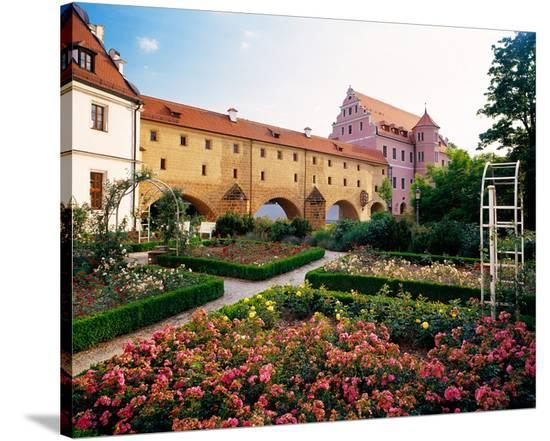 City Gate Amberg Germany--Stretched Canvas Print
