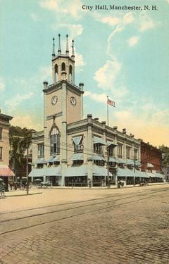 City Hall, Manchester, New Hampshire
