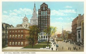 City Hall Square, Hartford, Connecticut