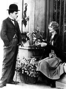 City Lights, Charlie Chaplin, Virginia Cherrill, 1931
